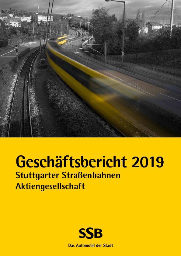 SSB Geschäftsbericht 2019